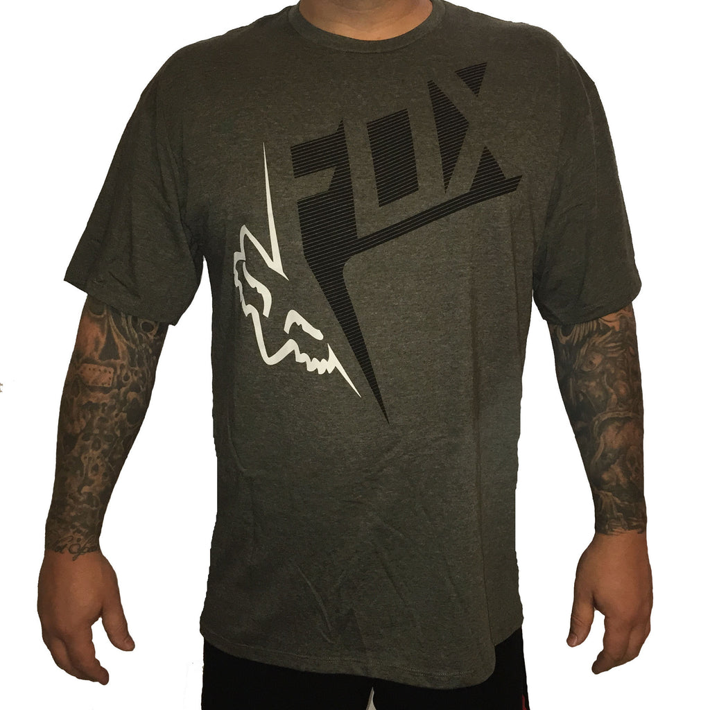 Fox Racing Outcome Tee Dark Heather Fatigue