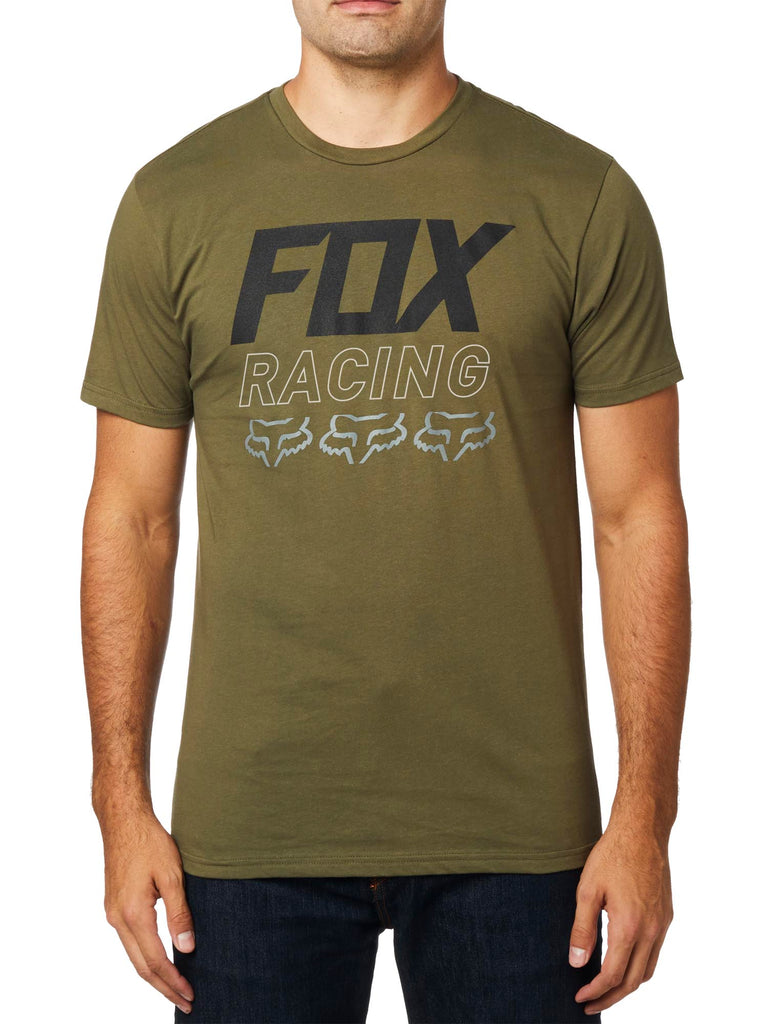 Fox Racing Men's Overdrive Short Sleeve Premium T-shirt