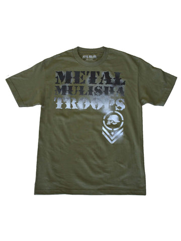Metal Mulisha Men's Overspray Short Sleeve T-shirt