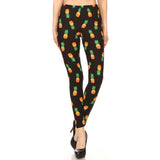 Vulcinity Pineapple Print Leggings
