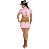 Rubies Women's NLP Playboy Cowgirl Costume