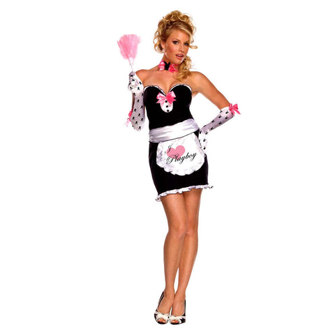 Rubies Women's NLP Playboy Mansion Maid Costume