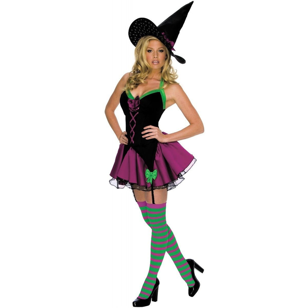 Rubies Women's NLP Playboy Sparkle Witch Costume