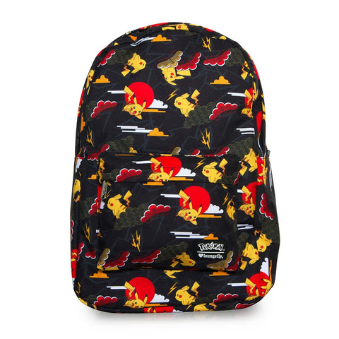Loungefly Pokemon Pikachu Clouds AOP Backpack