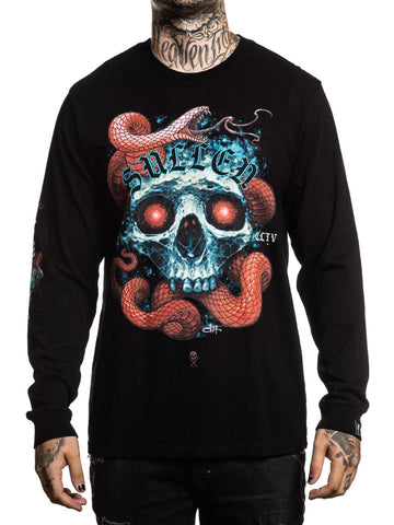 Sullen Men's Red Scales Long Sleeve T-shirt