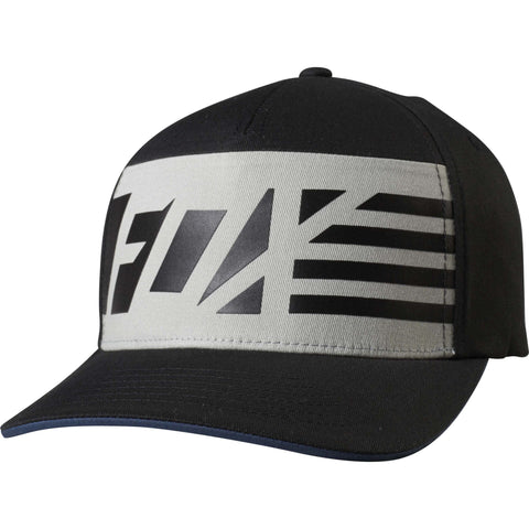 Fox Racing Men's Red White and True Flexfit Hat