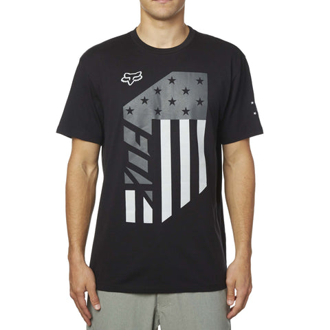 Fox Racing Men's 2017 Red White and True Short Sleeve Tee