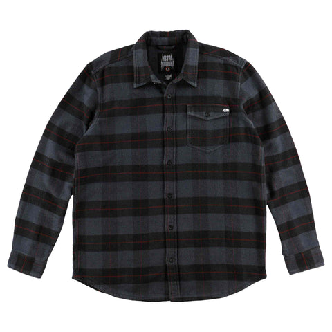 Metal Mulisha Men's Ripper Long Sleeve Flannel Jacket