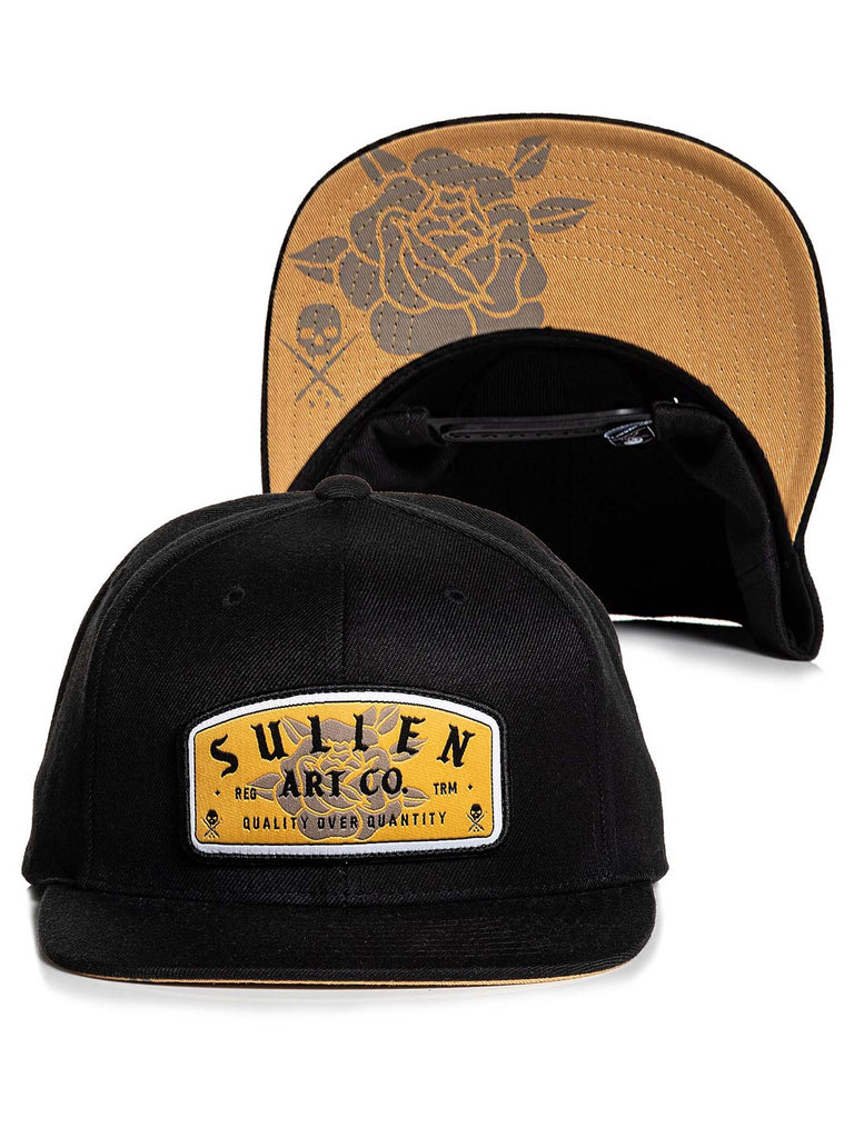 Sullen Men's Rose Stamp Snapback Hat