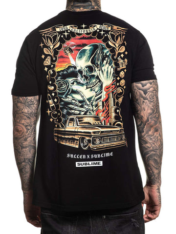 Sullen Men's Saw Red Sublime Short Sleeve T-shirt