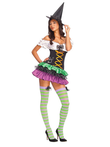 Secret Wishes Women's Playboy Sexy Witch Costume - 889288