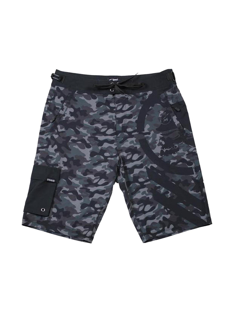 Metal Mulisha Men's Snare Camo Boardshorts