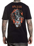 Sullen Men's Snarl Short Sleeve Wolf T-shirt