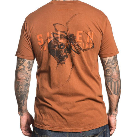 Sullen Men's Spider Bite Short Sleeve T-shirt