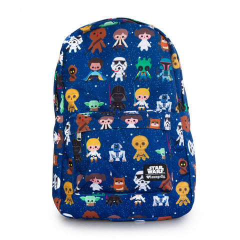 Loungefly Star Wars Baby Character Print AOP Backpack