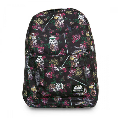 Loungefly Star Wars Floral Stormtrooper Print AOP Backpack