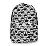 Loungefly Star Wars Storm Trooper Black and White Backpack