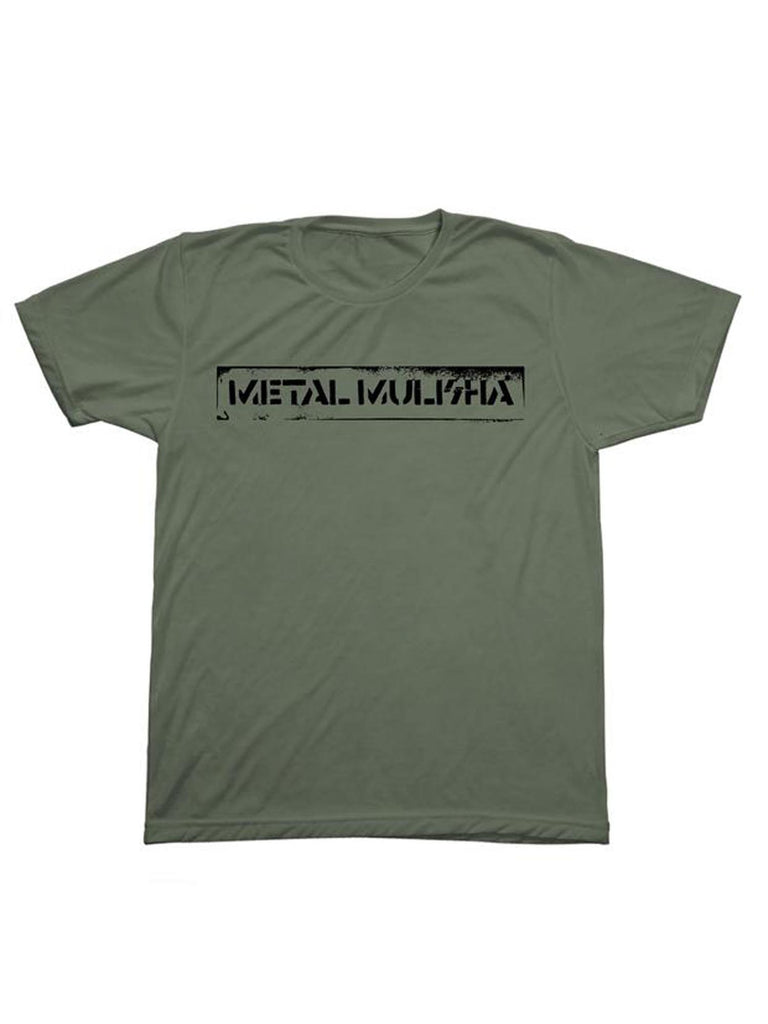 Metal Mulisha Men's Stencil Short Sleeve T-shirt