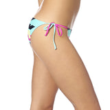 Fox Racing Women's Stereo Side Tie Bikini Bottom Side