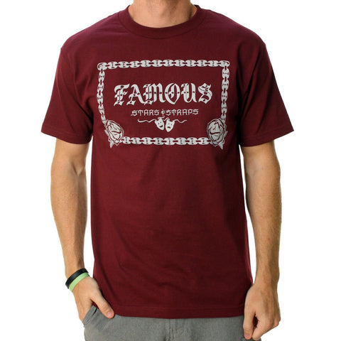 Famous Stars and Straps Street Style Men's Tee