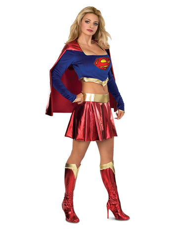 Secret Wishes Teen Deluxe Sexy Supergirl Costume - 886022