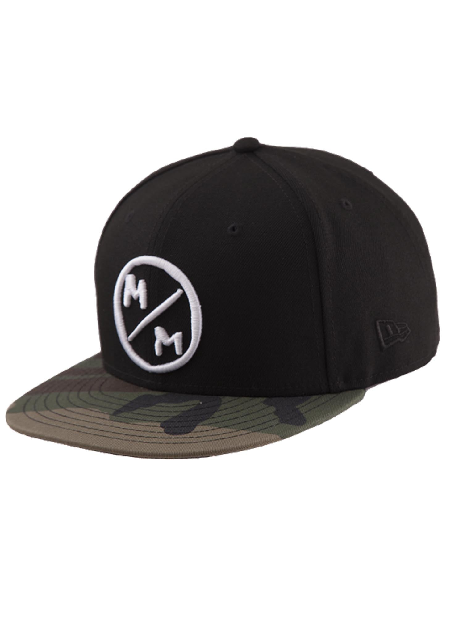 Metal Mulisha Men s Surplus Snapback Hat with Camo Bill and ... 3cb1ae57780b