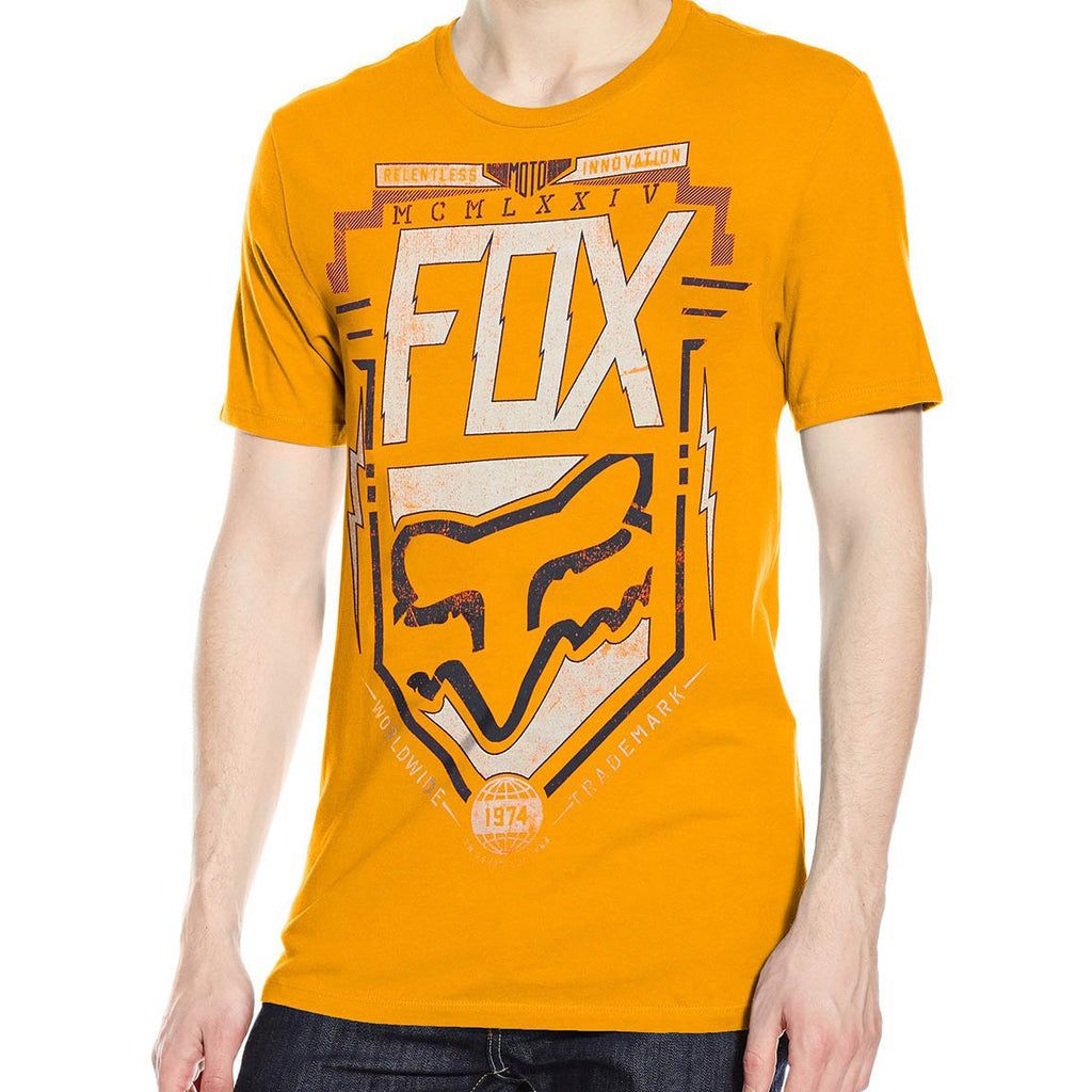 Fox Racing Men's Surplus Short Sleeve Premium Tee Orange