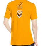 Fox Racing Men's Surplus Short Sleeve Premium Tee Orange Back