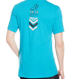 Fox Racing Men's Surplus Short Sleeve Premium Tee Blue Back