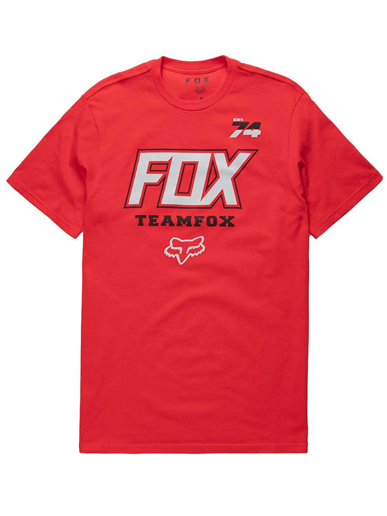 Fox Racing Men's Team Fox Short Sleeve T-shirt
