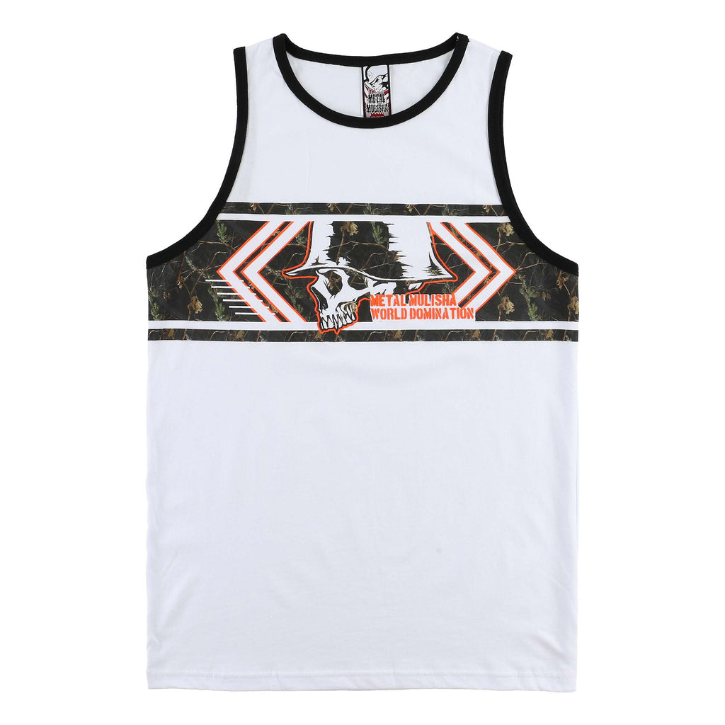 Metal Mulisha Men's Tempt Realtree Camo Tank Top
