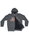 Metal Mulisha Men's Throwback Sherpa Zip Up Hoodie