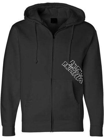 Metal Mulisha Men's Throwback Zip Up Fleece Hoodie