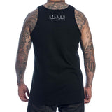 Sullen Men's Time Eternal Tattoo Machine Tank Top Back