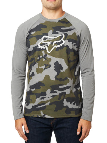 Fox Racing Men's Tournament Camo Long Sleeve Tech Tee