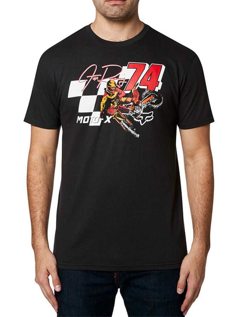 Fox Racing Men's Trackside Short Sleeve Basic T-shirt