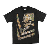 Metal Mulisha Men's Trail Realtree Camo Short Sleeve T-shirt Black