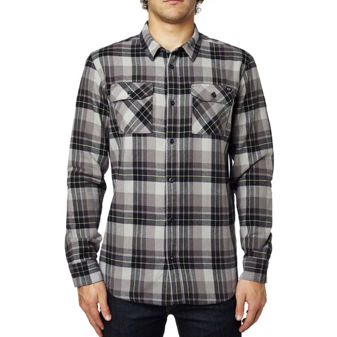 Fox Racing Men's Long Sleeve Traildust Flannel Woven Shirt