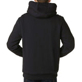Fox Racing Men's Traxion Sasquatch Fleece Zip Up Hoodie Black Back