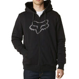 Fox Racing Men's Traxion Sasquatch Fleece Zip Up Hoodie Black