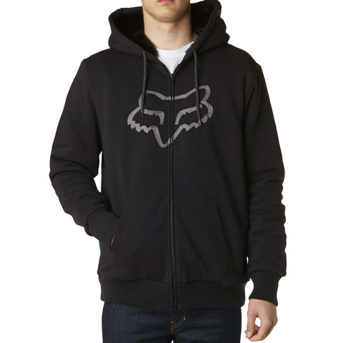 Fox Racing Men's Traxion Sasquatch Fleece Zip Up Hoodie