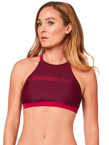 Fox Racing Women's Triton High Neck Bikini Top