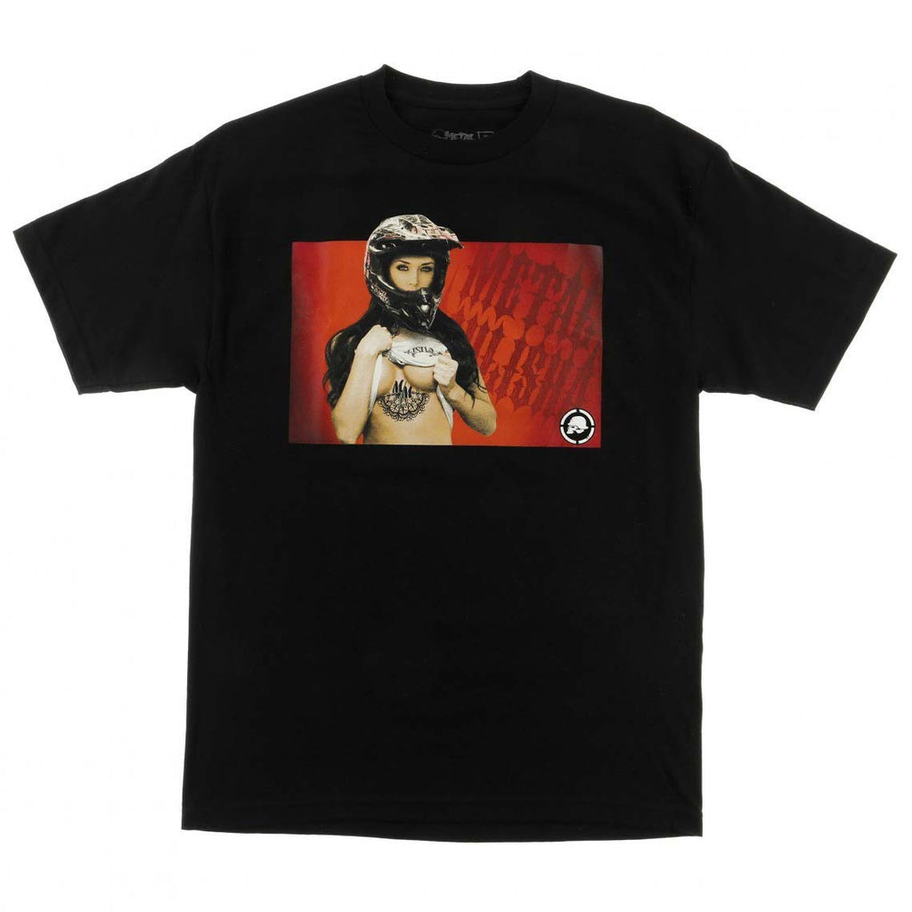 Metal Mulisha Men's Undercover MotoX Girl T-shirt