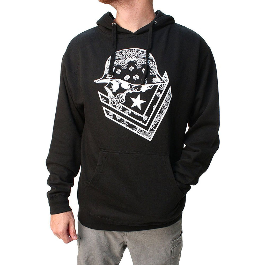 Metal Mulisha Men's Unsafe Pullover Fleece Hoodie