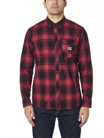 Fox Racing Men's Voyd Flannel Button Down Shirt