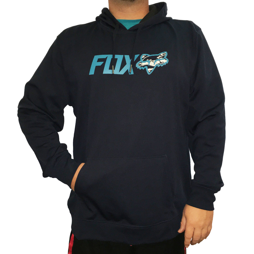 Fox Racing Warmup Fill Indigo Blue Hoodie