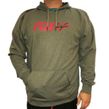 Fox Racing Warmup Fill Heather Graphite Grey Hoodie