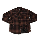 Metal Mulisha Men's Wartime Long Sleeve Flannel Jacket