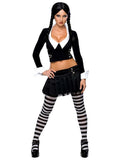 Sexy Wishes Women's Wednesday Addams Costume - 888643