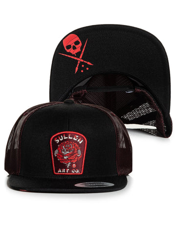 Sullen Men's Wilted Snapback Trucker Hat